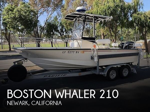 Used Boston Whaler Boats For Sale in California by owner | 2014 Boston Whaler 210 Mountauk