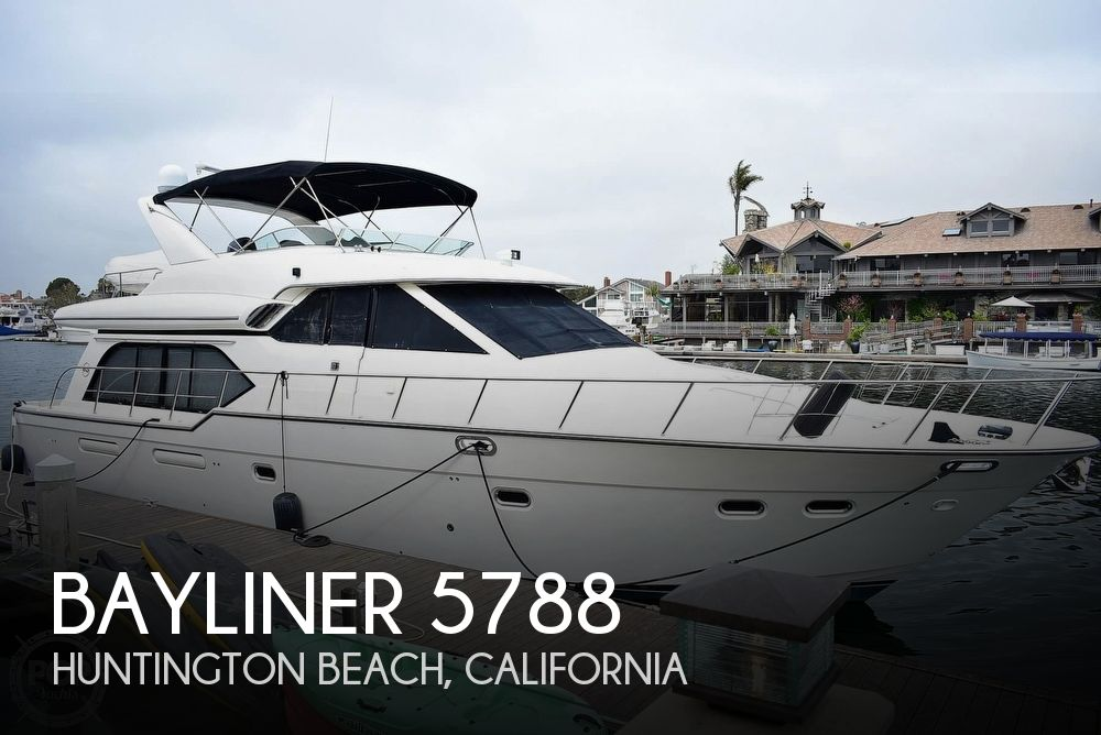 Used Boats For Sale in Los Angeles, California by owner | 1998 Bayliner 5788 Pilot-House Motoryacht