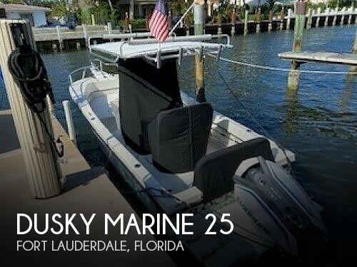 Used Dusky Marine Boats For Sale by owner | 2015 Dusky Marine 25