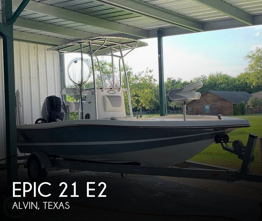 Used Epic Boats For Sale by owner | 2019 Epic 21 E2