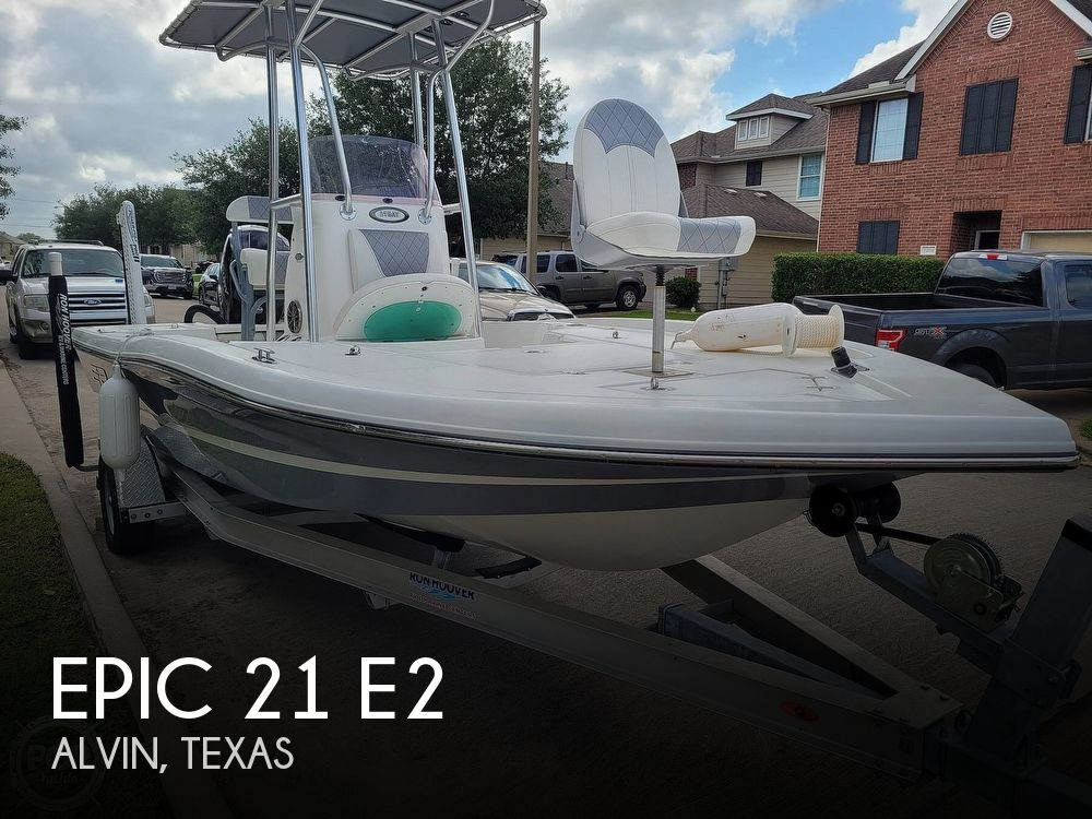 2019 Epic boat for sale, model of the boat is 21 E2 & Image # 1 of 40