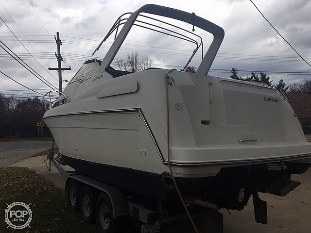 1995 Carver boat for sale, model of the boat is 310 mid cabin express & Image # 4 of 40