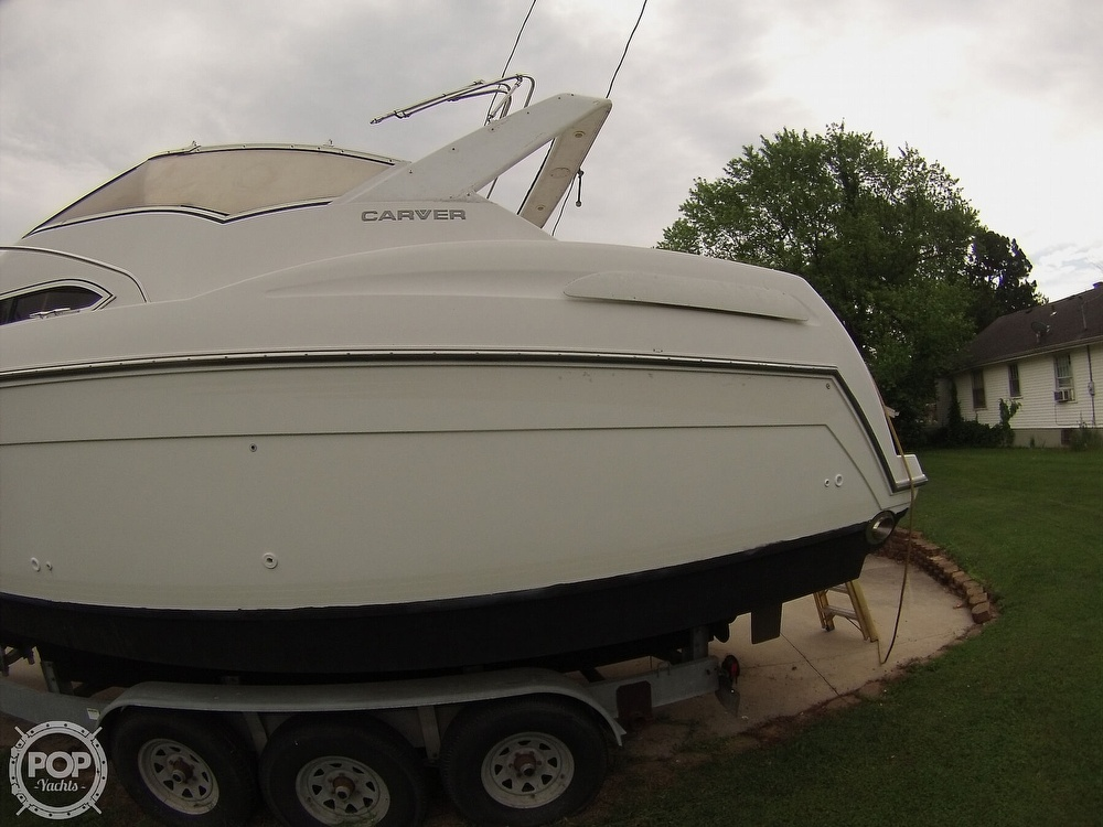 1995 Carver boat for sale, model of the boat is 310 mid cabin express & Image # 3 of 40