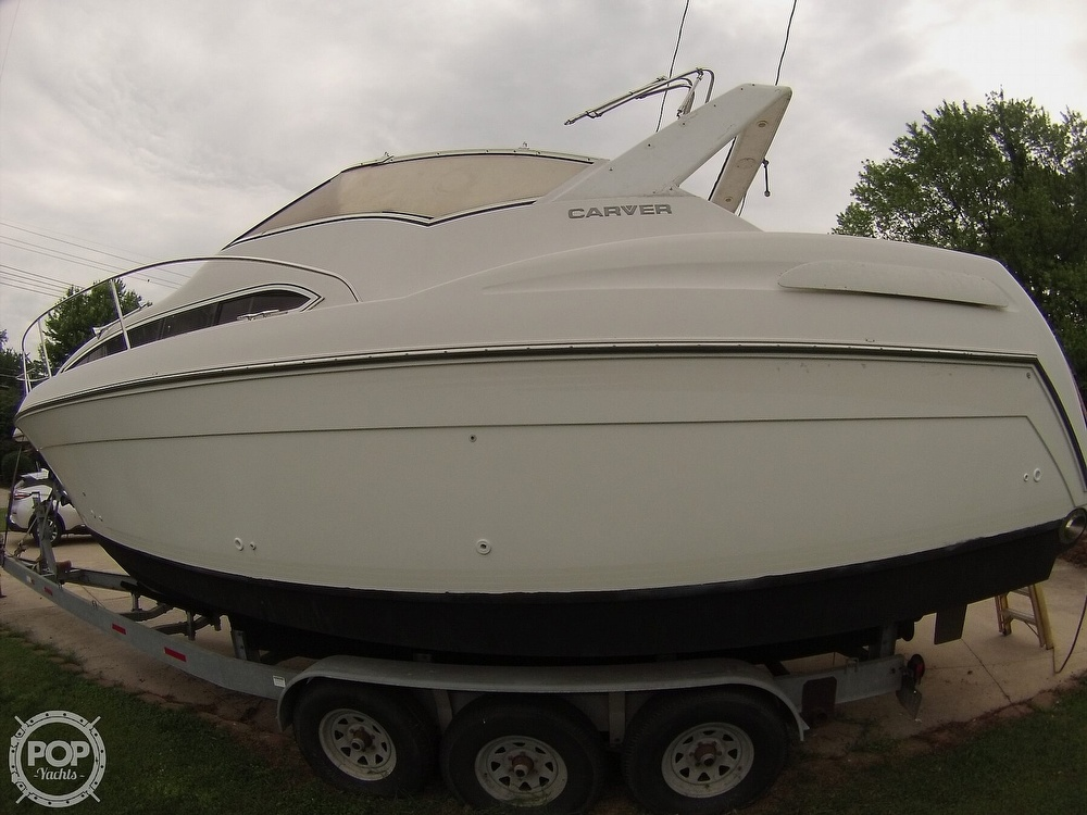 1995 Carver boat for sale, model of the boat is 310 mid cabin express & Image # 6 of 40