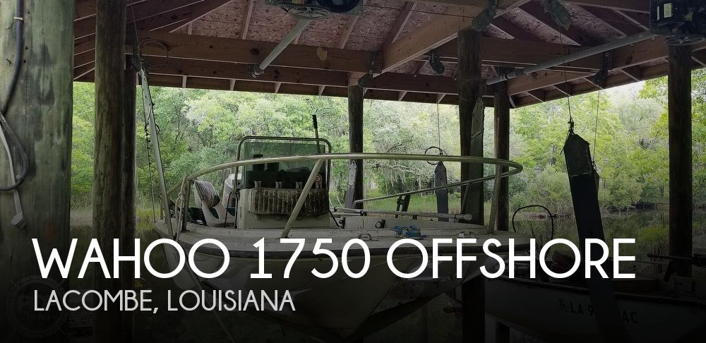 1995 Wahoo boat for sale, model of the boat is 1750 offshore & Image # 1 of 36