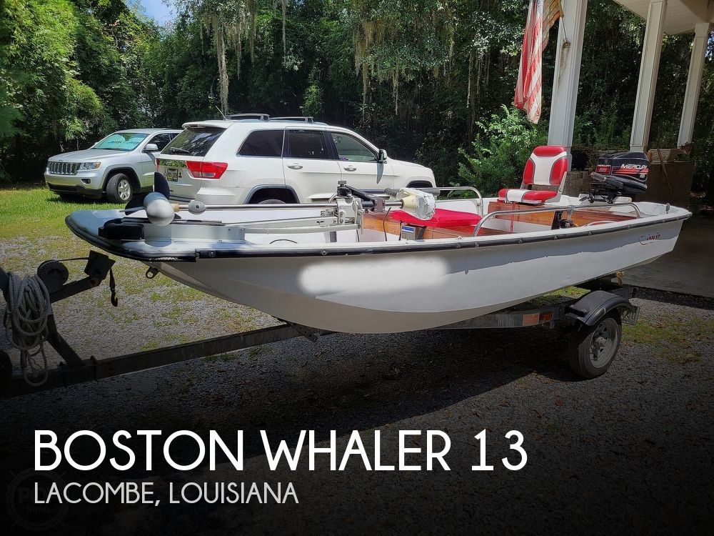 1967 Boston Whaler boat for sale, model of the boat is 13 & Image # 1 of 40