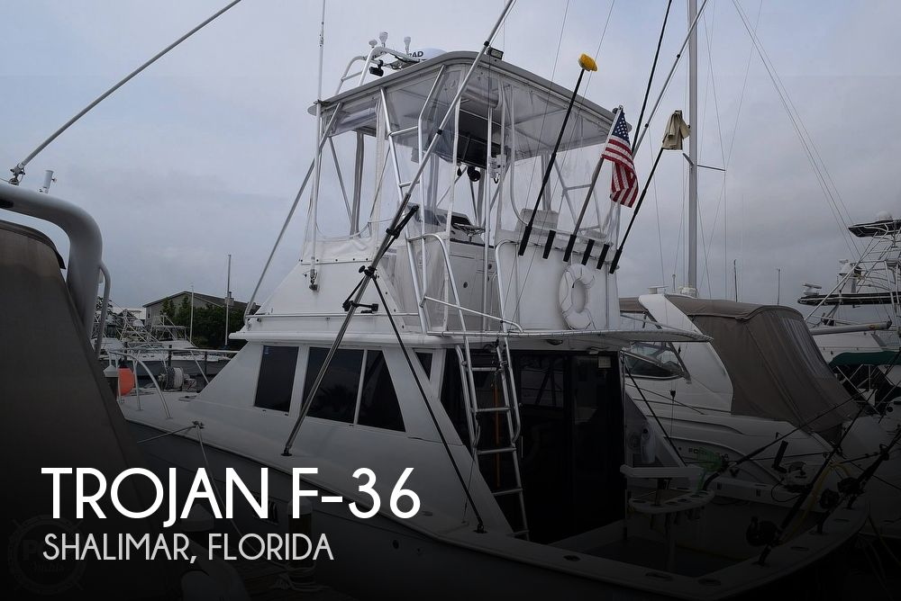 1979 Trojan boat for sale, model of the boat is F-36 & Image # 1 of 40