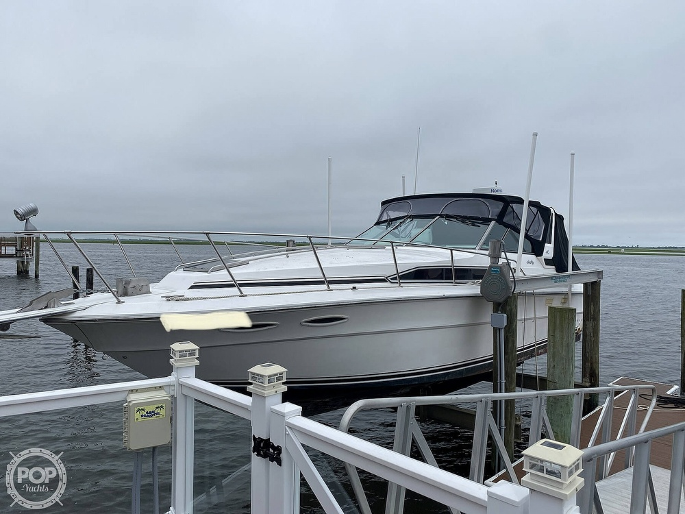 1988 Sea Ray boat for sale, model of the boat is 340 Express Cruiser & Image # 11 of 40