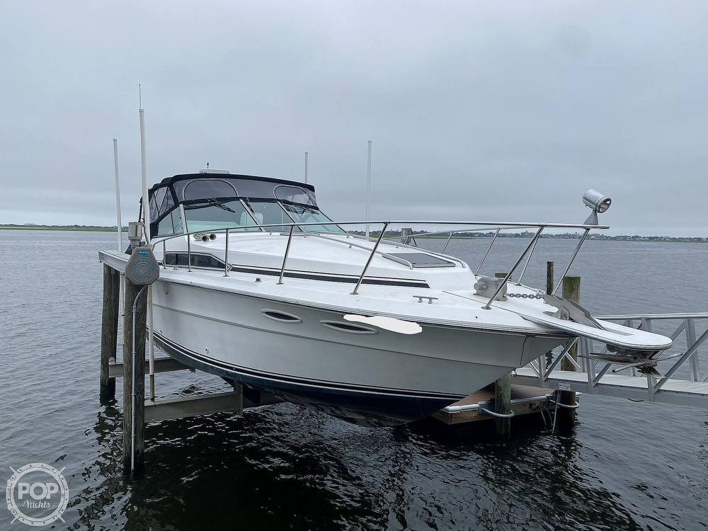 1988 Sea Ray boat for sale, model of the boat is 340 Express Cruiser & Image # 9 of 40