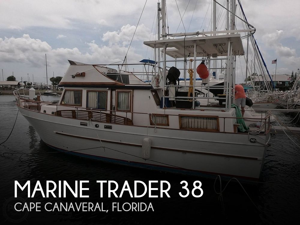 1979 Marine Trader boat for sale, model of the boat is 38 & Image # 1 of 40