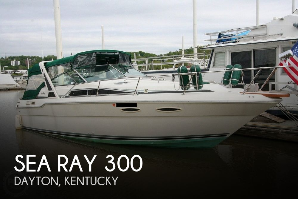 1989 Sea Ray boat for sale, model of the boat is 300 Sundancer & Image # 1 of 40