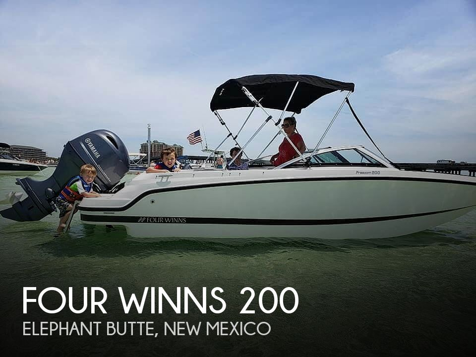 Used Boats For Sale in New Mexico by owner | 2018 Four Winns HD 200 Freedom
