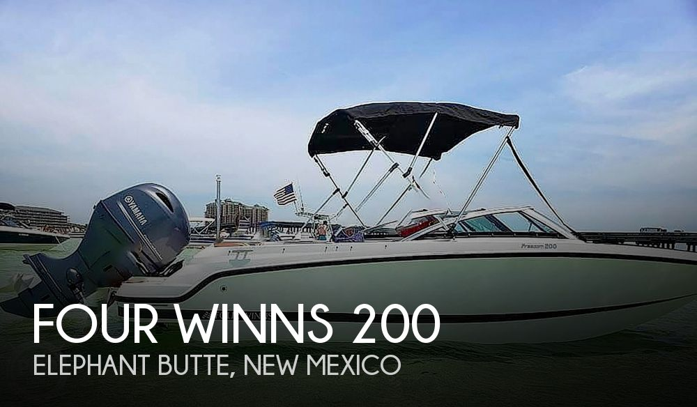 2018 Four Winns boat for sale, model of the boat is HD 200 Freedom & Image # 1 of 40