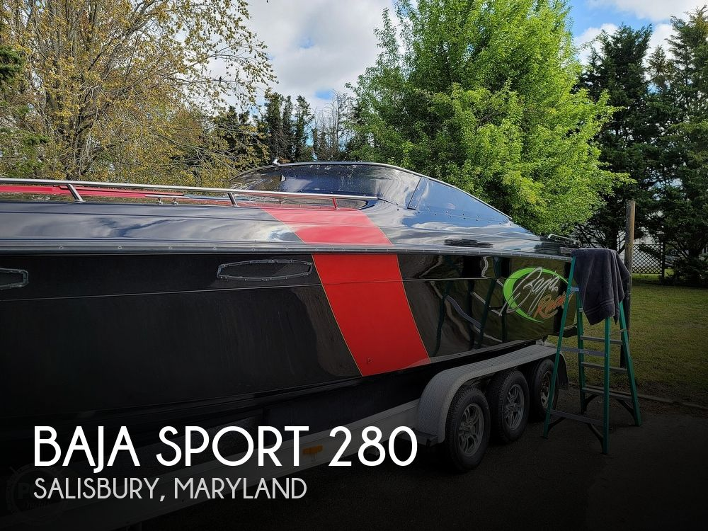 1988 Baja boat for sale, model of the boat is Sport 280 & Image # 1 of 40