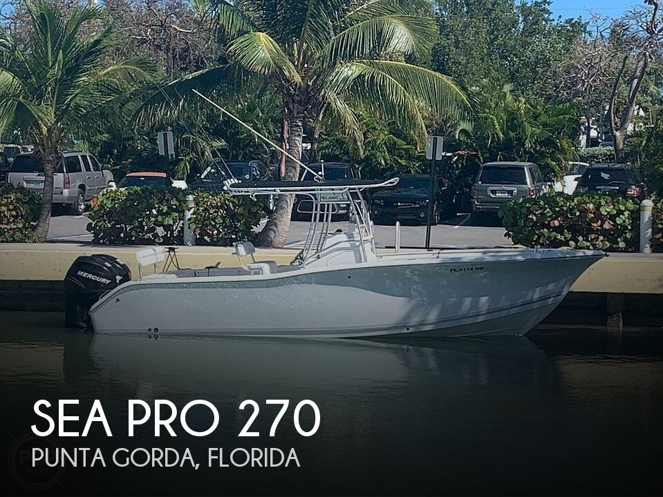 Used Sea Pro Boats For Sale by owner | 2006 Sea Pro 270
