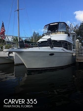 Used Carver Boats For Sale in Florida by owner | 1997 Carver 355 Aft Cabin