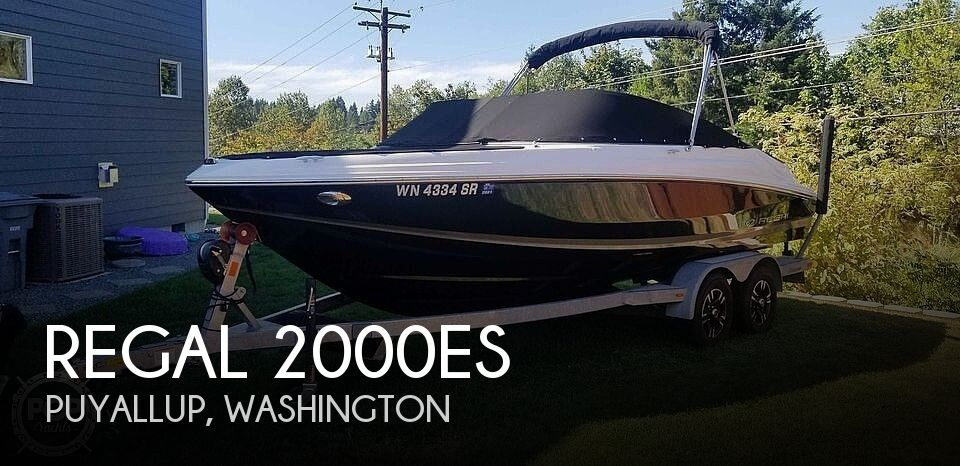 Used Regal Boats For Sale in Washington by owner | 2018 Regal 2000es