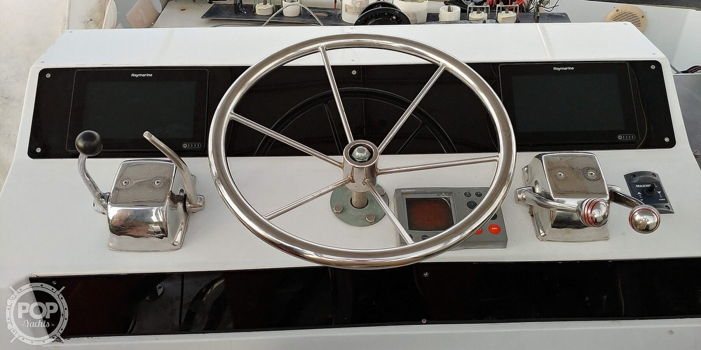 1991 Pace boat for sale, model of the boat is Sportfisher 36 & Image # 6 of 8