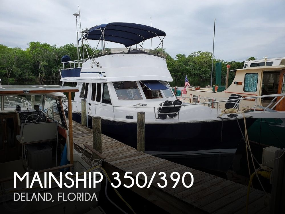 1999 Mainship boat for sale, model of the boat is 350/390 & Image # 1 of 40