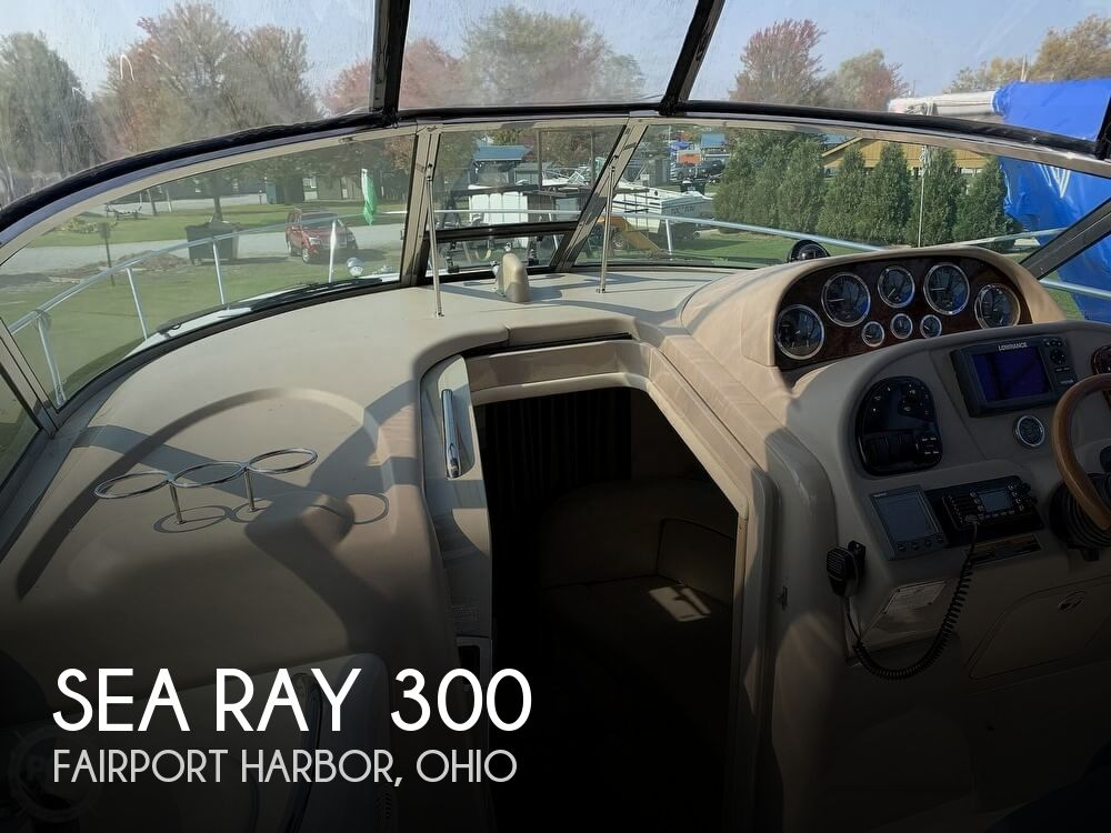 Used Boats For Sale in Youngstown, Ohio by owner | 2001 Sea Ray 300 Sundancer