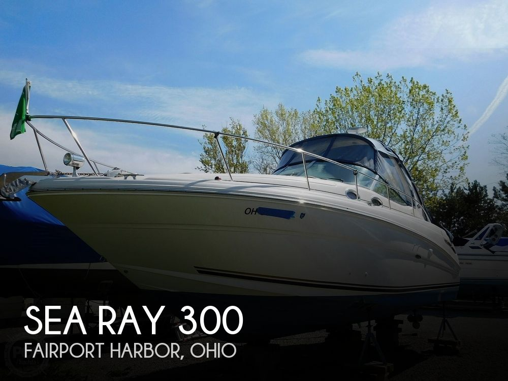 2001 Sea Ray boat for sale, model of the boat is 300 Sundancer & Image # 1 of 40
