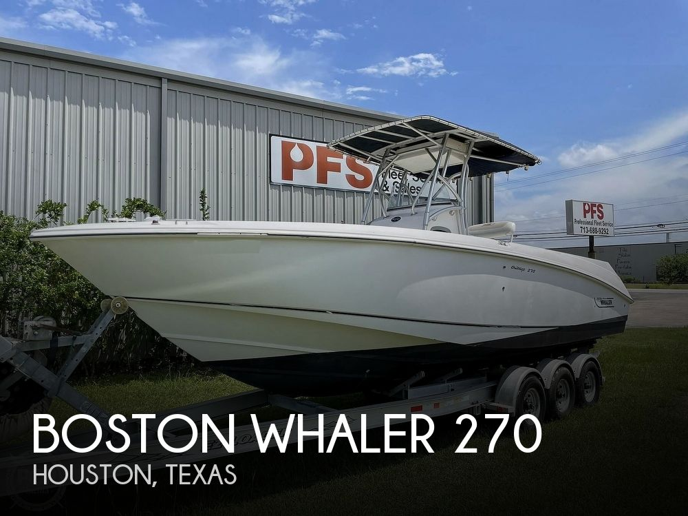2003 Boston Whaler boat for sale, model of the boat is 270 Outrage & Image # 1 of 40
