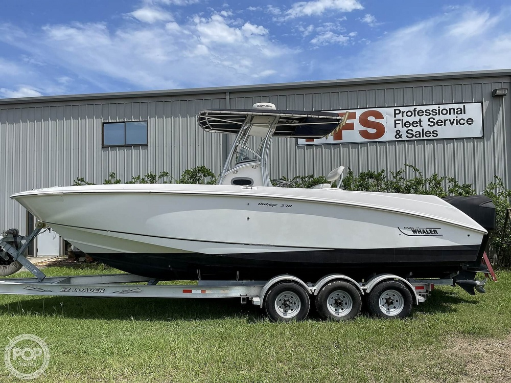 2003 Boston Whaler boat for sale, model of the boat is 270 Outrage & Image # 8 of 40