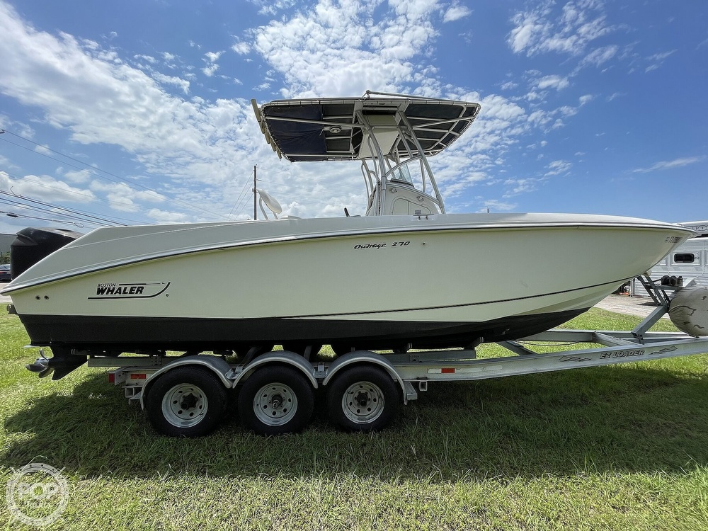 2003 Boston Whaler boat for sale, model of the boat is 270 Outrage & Image # 10 of 40