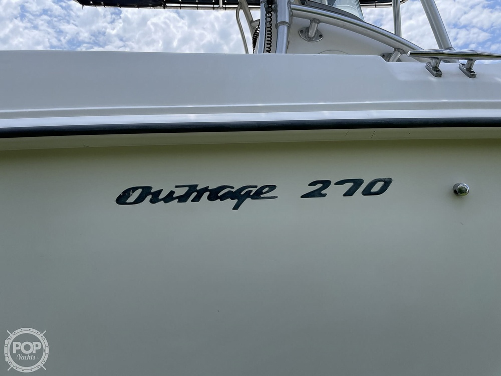 2003 Boston Whaler boat for sale, model of the boat is 270 Outrage & Image # 17 of 40