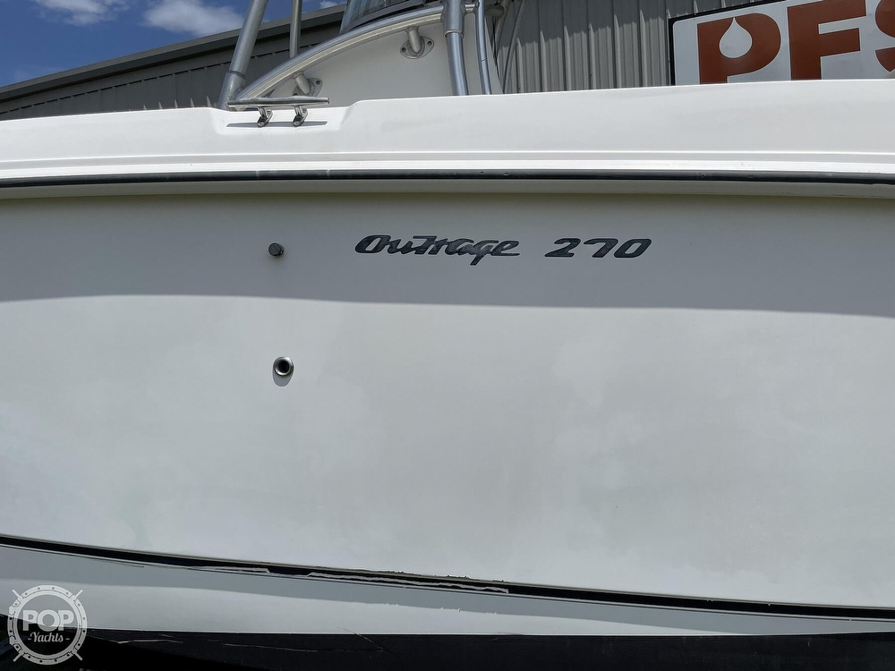 2003 Boston Whaler boat for sale, model of the boat is 270 Outrage & Image # 24 of 40