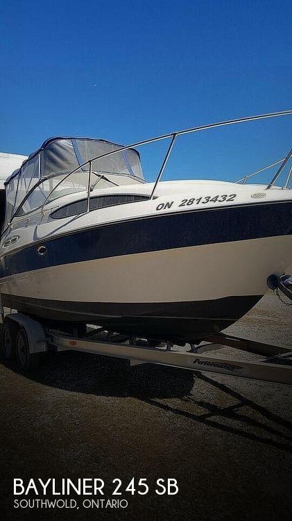 Used Bayliner Power boats For Sale by owner | 2004 Bayliner 245 SB