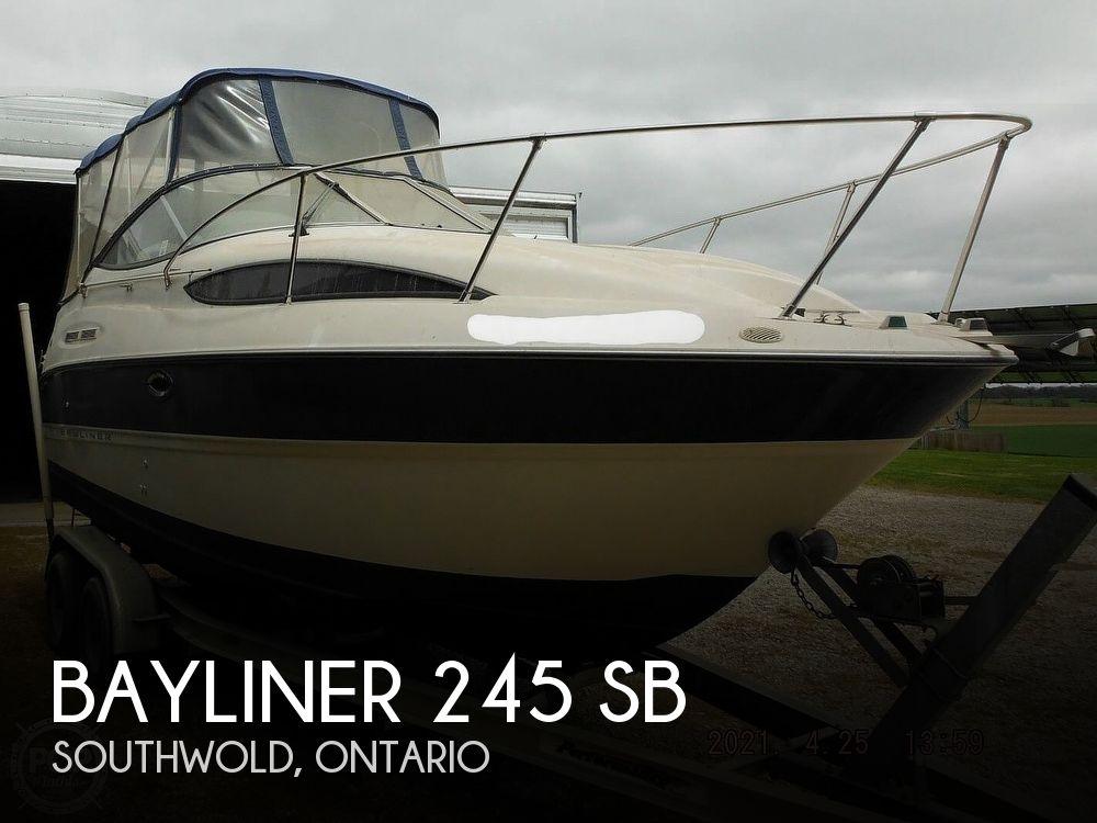 2004 Bayliner boat for sale, model of the boat is 245 SB & Image # 1 of 40