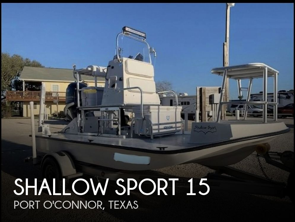 Used Shallow Sport Boats For Sale by owner | 2003 Shallow Sport 15 classic