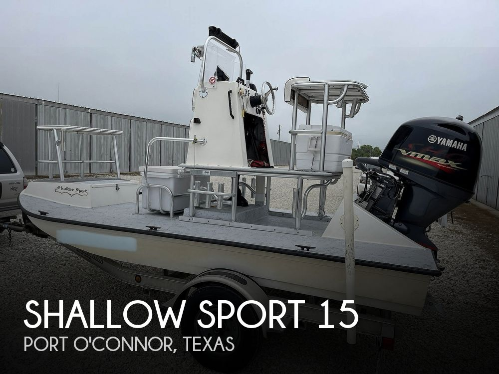 2003 Shallow Sport boat for sale, model of the boat is 15 Classic & Image # 1 of 40