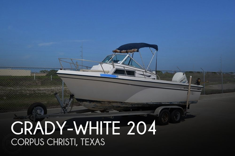 1984 Grady-White boat for sale, model of the boat is Overnighter 204-C & Image # 1 of 40