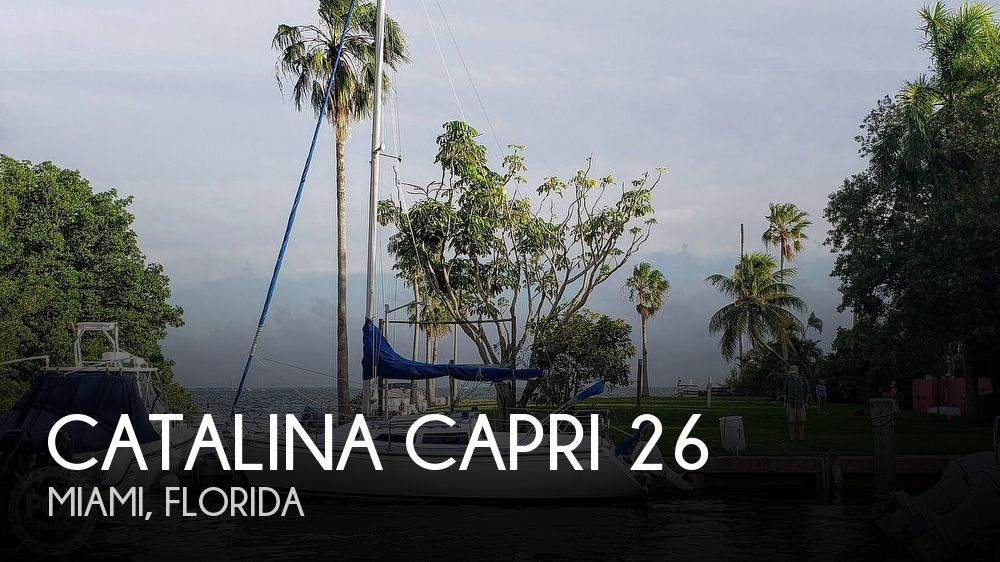 1990 Catalina Yachts boat for sale, model of the boat is Capri 26 & Image # 1 of 40