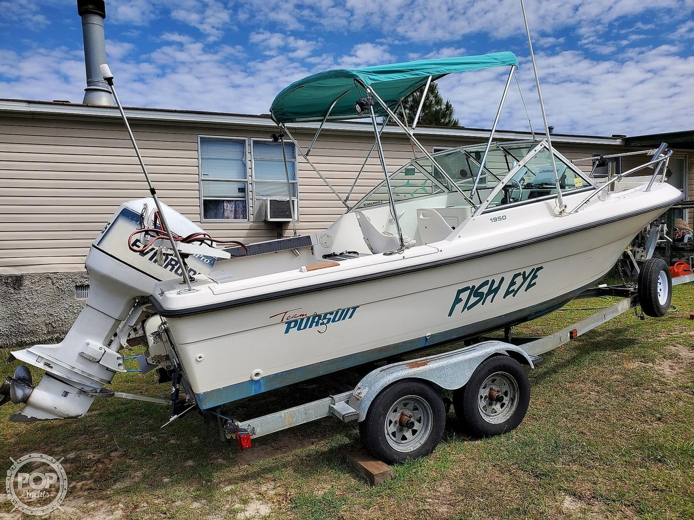 1994 Pursuit boat for sale, model of the boat is 1950DC & Image # 7 of 40