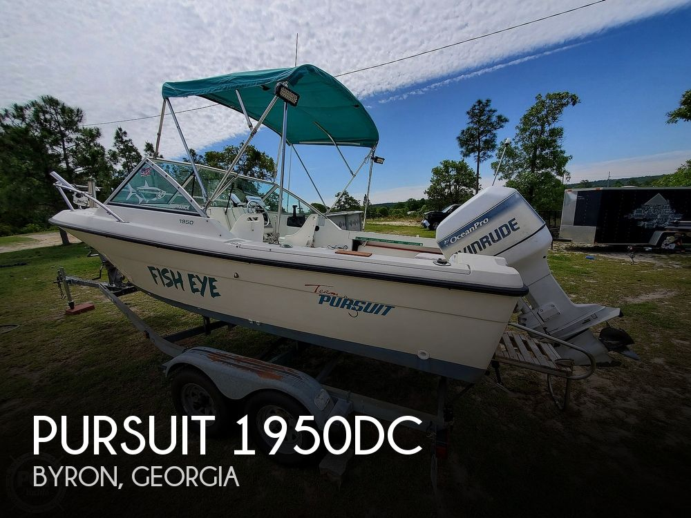 1994 Pursuit boat for sale, model of the boat is 1950DC & Image # 1 of 40