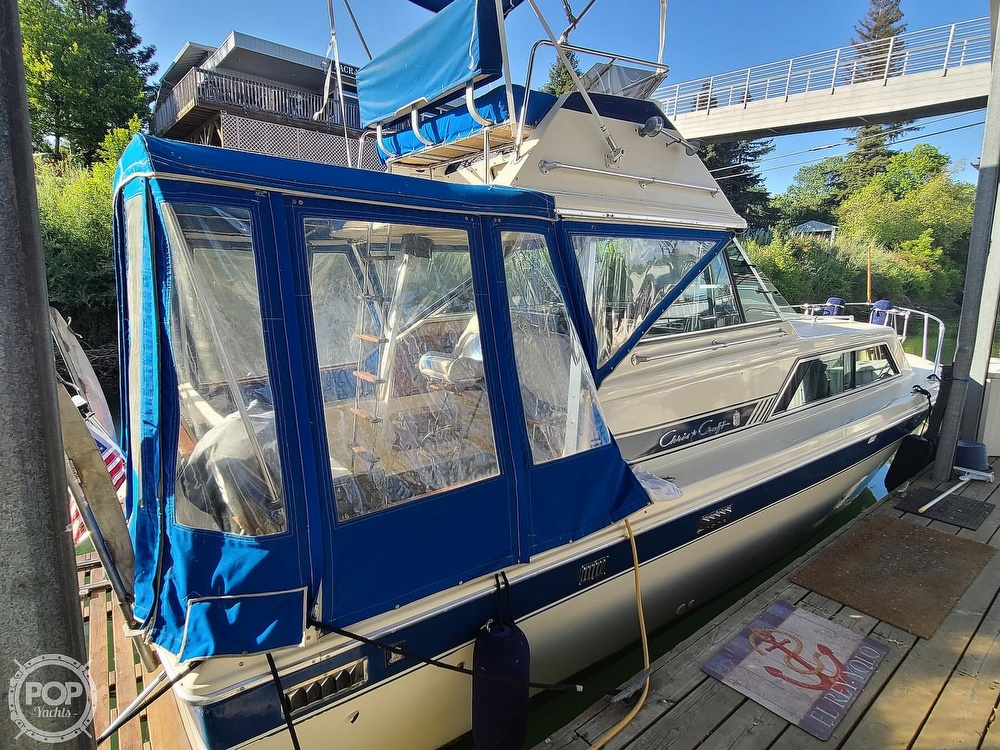 1986 Chris Craft boat for sale, model of the boat is Catalina 291 & Image # 5 of 40
