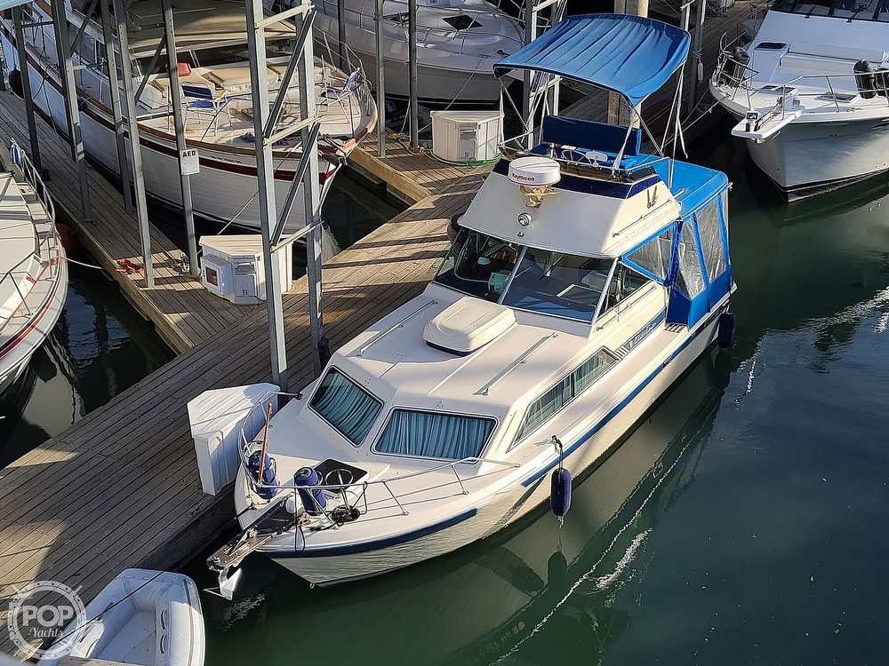 1986 Chris Craft boat for sale, model of the boat is Catalina 291 & Image # 11 of 40