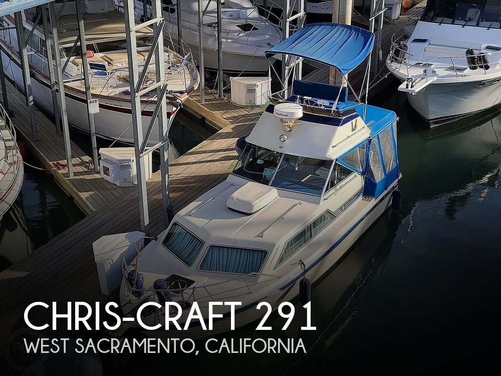 1986 Chris Craft boat for sale, model of the boat is Catalina 291 & Image # 1 of 40