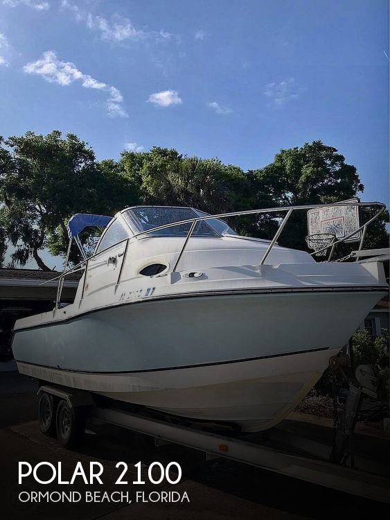 Used Polar Boats For Sale by owner | 2005 Polar 2100