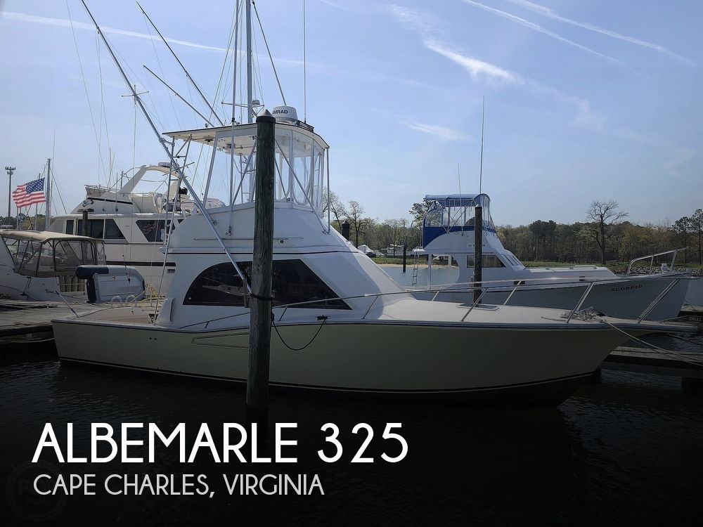1990 Albemarle boat for sale, model of the boat is 325 Convertible & Image # 1 of 40