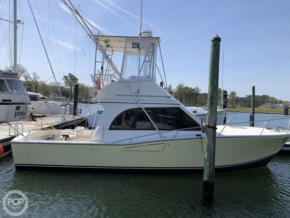 1990 Albemarle boat for sale, model of the boat is 325 Convertible & Image # 2 of 40