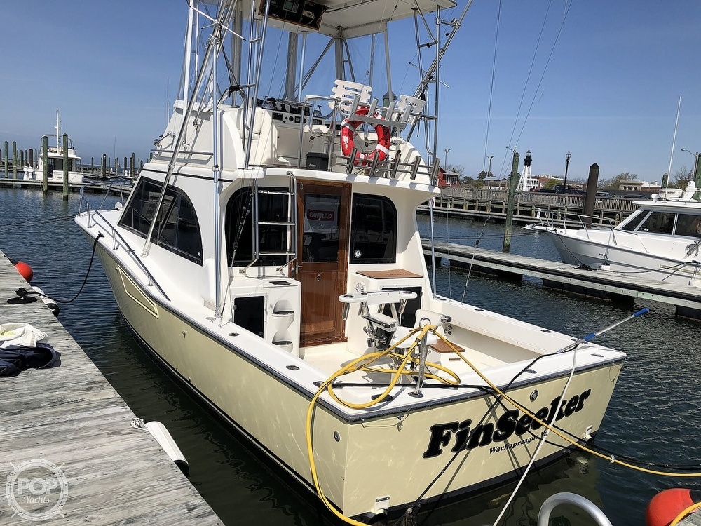 1990 Albemarle boat for sale, model of the boat is 325 Convertible & Image # 4 of 40