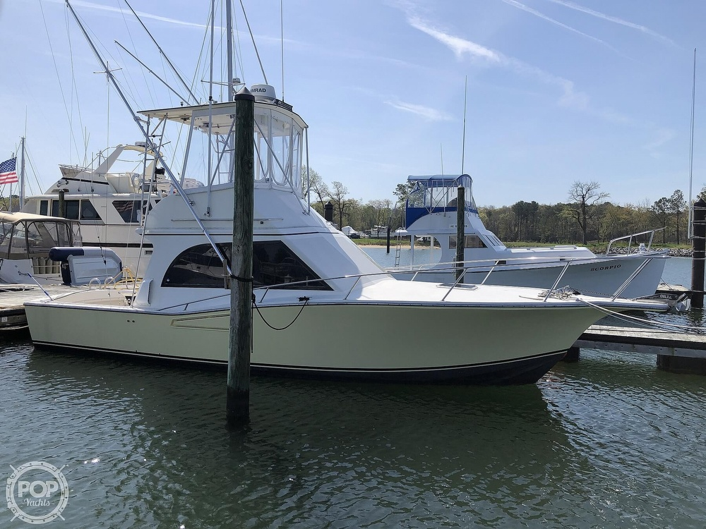 1990 Albemarle boat for sale, model of the boat is 325 Convertible & Image # 9 of 40