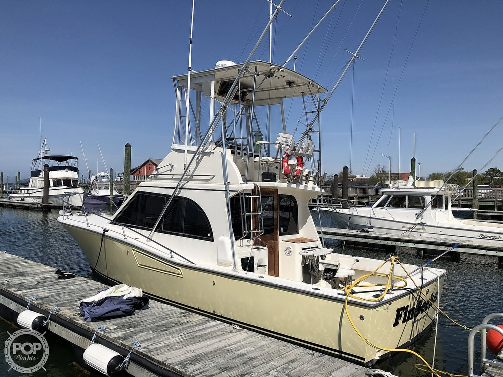 1990 Albemarle boat for sale, model of the boat is 325 Convertible & Image # 11 of 40