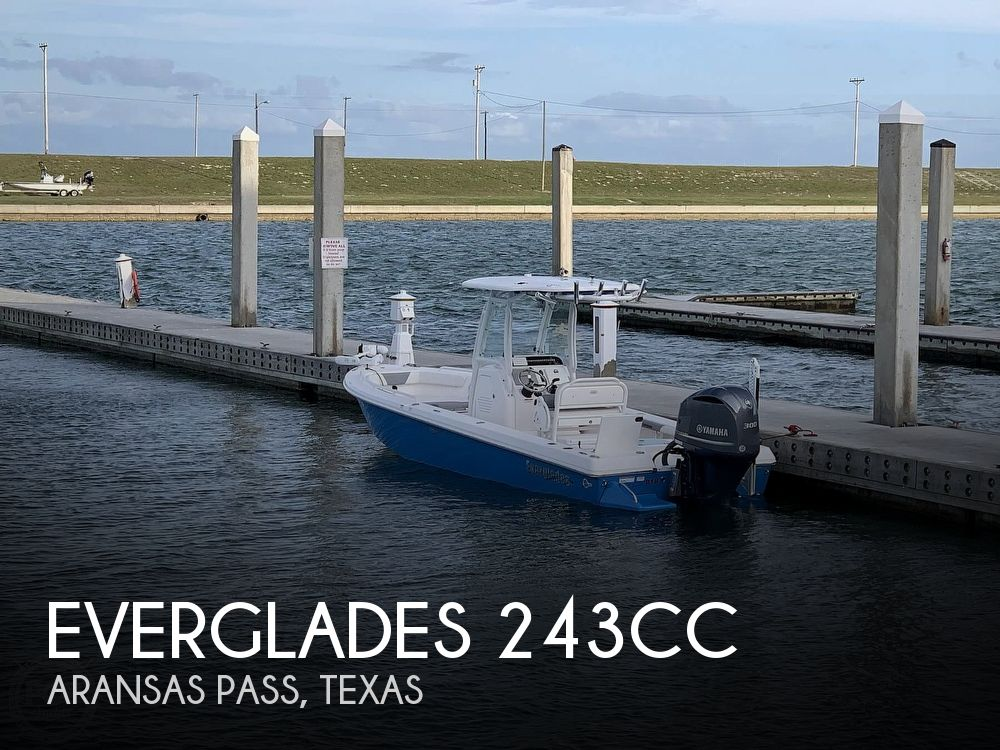 Used Everglades Boats For Sale by owner | 2016 Everglades 243CC