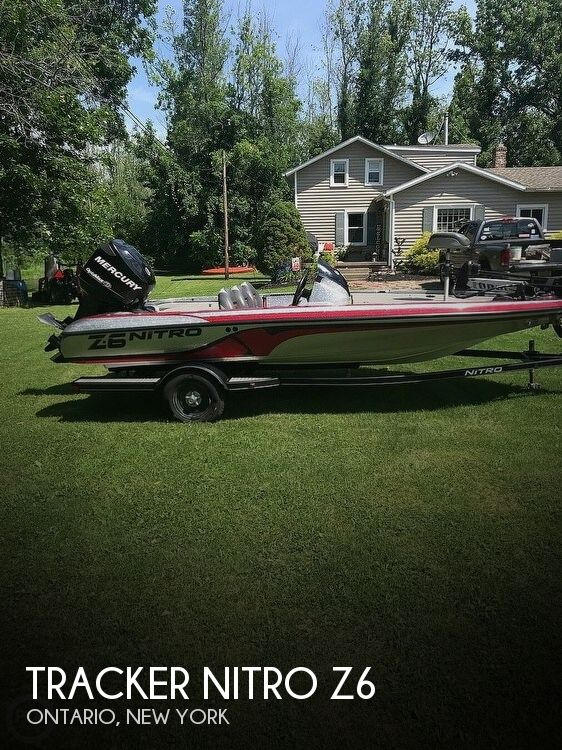 Used Ski Boats For Sale in Syracuse, New York by owner | 2011 Tracker Nitro Z6