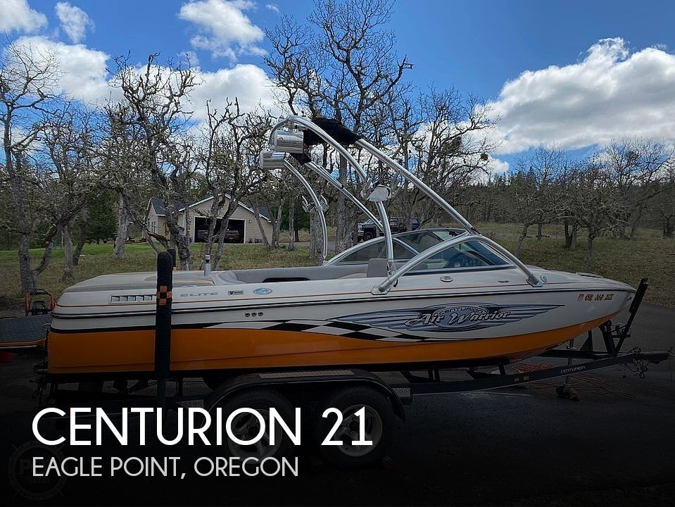Used Power boats For Sale in Medford, Oregon by owner | 2007 Centurion 21